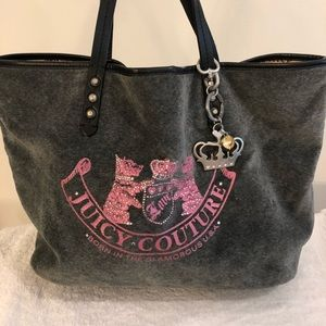 Juicy couture purse and matching wallet.